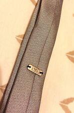Dior Homme SS07 Super Skinny Pre-Atada Corbata Raro Hedi Slimane Silver Glitter