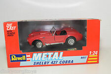 REVELL 8617 SHELBY 427 COBRA RED MINT BOXED