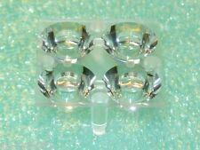 10610 Carclo 19.9mm LED Lens 10mm QUAD Optic Spot Square Flange [QTY=10pcs]