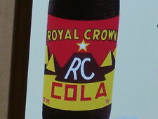 35c RC COLA Royal Crown -- Pyramid Glass Bottle MOON PIE COOKIE Temperature Sign