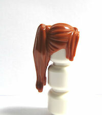 Lego 1 Hair Wig For Female Girl Minifigure  Long Orange Ginger Ponytail