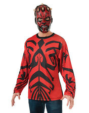 Darth Maul Mens Star Wars Costume Top, Large, CHEST 42 - 44""