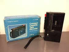 Realistic CTR-85 COMPACT Portable Cassette recorder