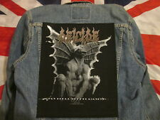 DEICIDE gargoyle BACKPATCH BACK PATCH /  LARGE / HEAVY METAL BLACK