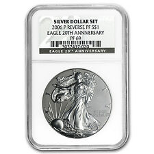2006-P Reverse Proof Silver Eagle PF-69 NGC (20th Anniv) - SKU #20515