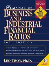 Almanac of Business and Industrial Financial Ratios 2001 (Almanac of Business an