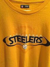 Pittsburg Steelers T-Shirt NFL Team Apparel Size XL. Unisex Adult. 100% Cotton