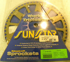 Sunstar Aluminum Rear Sprocket 52T (Clearance!) Mfr# 5-361953