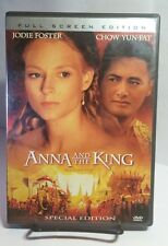 Anna and the King (DVD,2006,Full Frame)Free S&H-Jodie Foster, Yun-Fat Chow