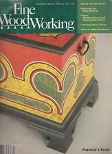 """FINE WOODWORKING MAGAZINE SEPTEMBER/OCTOBER 1984 """"PAINTED CHESTS/TAMBOURS"""""""