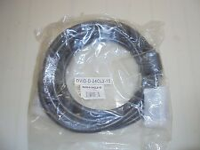 NEW Monoprice 2688 15ft 24AWG CL2 Dual Link DVI-D Cable - Black DVID-D-25CL2-15
