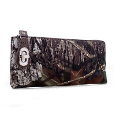 MOSSY OAK CAMO ZIP WALLET - CAMOUFLAGE LADIES, WOMENS CLUTCH