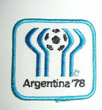 RARE PATCH ARGENTINA 78  / COUPE DU MONDE FOOTBALL / VINTAGE