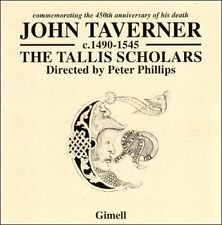 John Taverner: Commemorating the 450th Anniversary of His Death New CD