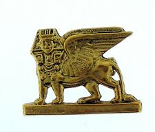 Egyptian Pin or Brooch of a Winged Sphinx Standing like a Lion