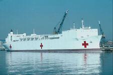 795027 usnhs miséricorde navire hôpital de San Diego Station Navale photo A4 California usa