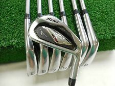 Mizuno Jpx 825 Pro Forged 4-Pw Iron Set Kbs Tour Stiff Flex Steel Used Rh