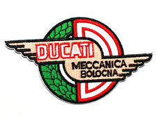Ducati Meccanica Bolocna Italy motorcycles Racing Big Bike Speed IRON ON PATCH