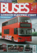 BUSES Magazine. 2 issues. Aug 2015 & Sept 2015. 100 pages.