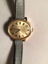 Vintage Gold Plated Oris Super 17 Jewels Ladies Mechanical Watch.
