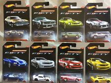 2017 Hot Wheels Wal-Mart Exclusive Camaro Fifty Complete Set of 8 VERY NICE!!