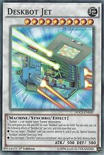 YU-GI-OH CARD: DESKBOT JET - DOCS-EN049 1st EDITION