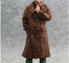 """1/6 Scale Hot ARMY Brown Trench coat For 12"""" Action Figure Toys"""