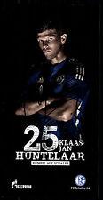 Klaas Jan Huntelaar Autogrammkarte FC Schalke 04 2015-16 Original Sign+ G 12135