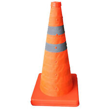 """85 CM 33.5""""Folding Collapsible Traffic Multi Purpose Pop Reflective Safety Cone"""