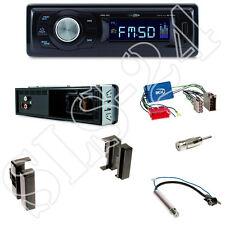 Caliber RMD021 USB/MicroSD Radio + Audi A4, A6, A8 Blende black +ISO Adapter Set