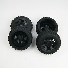 SR Rovan Knobby Tire on HD 6 Spoke Wheel fit HPI Baja 5B SS King Motor Buggy