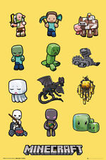 Poster MINECRAFT - Characters Yellow (Game) ca60x90cm NEU 58146
