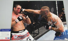 CHUCK 'THE ICEMAN' LIDDELL Hand Signed 11'x14' Photo + PSA DNA COA L59485
