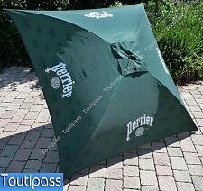 PERRIER EAU Parasol de terrasse carré inclinable 145x145 cm NEUF