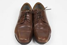 Clarks Mens Sz 11.5 Brown Leather Dress Formal Oxford