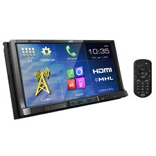 """JVC KW-V51BT 7"""" Built-in Bluetooth HDMI Double DIN DVD Car Stereo Receiver"""