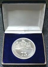 1899-1974 ROYAL TRUST CORPORATION OF CANADA 75TH ANNIVERSARY MEDAL - Huge + Case