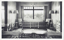 Intérieur Motel Auberge du Faubourg SAINT-JEAN PORT-JOLI Quebec Carte Photo RPPC