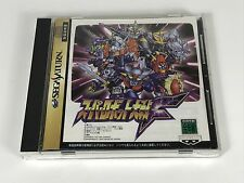 GAMING Sega Saturn SUPER ROBOT WARS F  Japan Gam