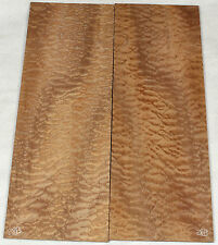 Highly figured quilted sapele drop top / lam top for electric guitar sdt28b