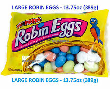 WHOPPERS ROBIN EGGS LARGE 13.75oz 389g Malted Milk chocolate candy Hershey Eastr