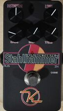 Keeley Stahlhammer 2-Mode Distortion Pedal with 3-Band EQ Brand New