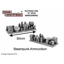 Zinge Industries Steampunk Ammunition Magazines and Rounds X4 Bits New S-ABD06