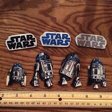 Disney Star Wars Fabric Iron On Appliques style #6  R2D2