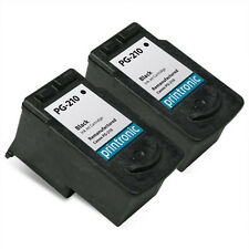 2 Pack Canon PG-210 Ink Cartridge Black - PIXMA MP240 MP480 MX320 MX360 Printers