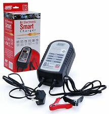 BATTERY CHARGER SMART 8A ELECTRONIC FOR 12V BATTERY FOR CARS VANS *Brand New*