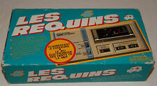 VINTAGE LES REQUINS (THE SHARKS) HANDHELD/TABLETOP GAME BY BANDAI IN BOX/BOXED