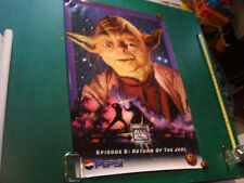 Original Vintage Poster: Pepsi RETURN OF THE JEDI; YODA; 1996 24x36""