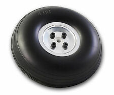 5in/127mm RC Airplane PU wheel with Aluminum Hub - 1 PC