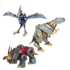 Transformer Animated Dinobot Set Grimlock Swoop Snarl